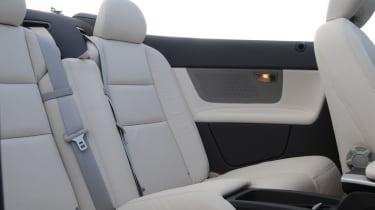 Volvo C70 rear seats