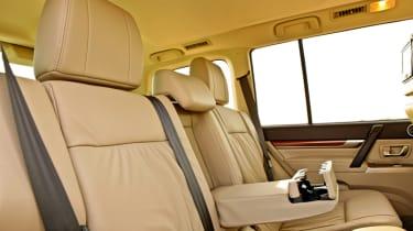 Mitsubishi Shogun SG4 rear seats