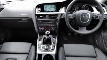 Used Audi A5 Coupe - dash