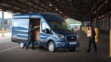 Ford Transit side profile