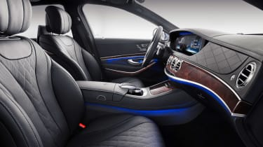 Mercedes-Maybach S-Class seats