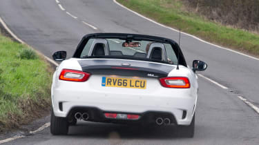 Abarth 124 Spider - rear