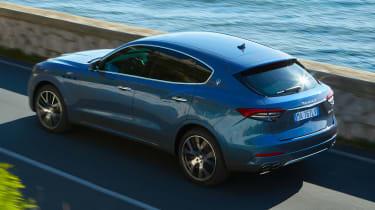 Maserati Levante Hybrid - rear action