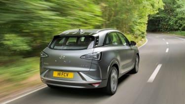 Hyundai NEXO - rear action