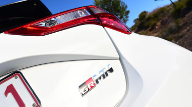 Toyota Yaris GRMN - rear badge