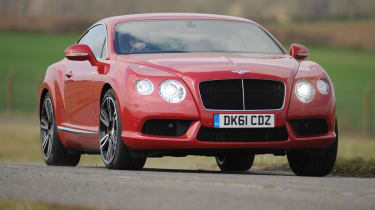 The hand-built Bentley Continental GT takes the fight to Aston Martin and Mercedes.