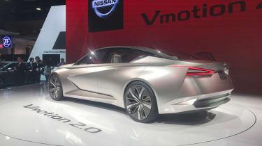 Nissan Vmotion 2.0 concept - Detroit rear quarter
