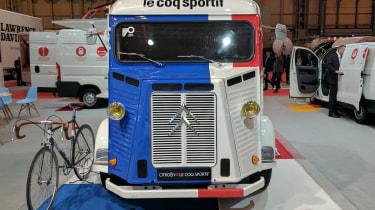 Citroen H van Le Coq Sportif - full front show