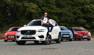 Volvo XC60 - group shot