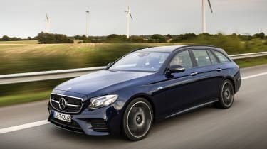 Mercedes-AMG E 43 4MATIC estate - front tracking