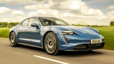 Porsche Taycan RWD - front