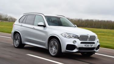 Used BMW X5 - front action