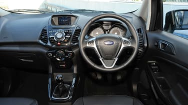 Used Ford EcoSport - dash