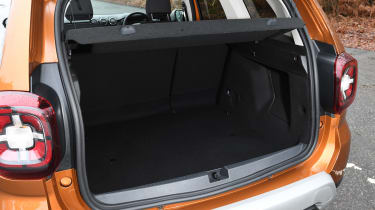 Dacia Duster - boot side