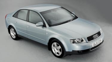 Used Audi A4 Mk2 - front