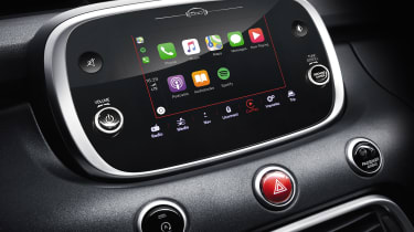 Fiat 500X touchscreen