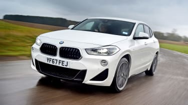 BMW X2 - front tracking