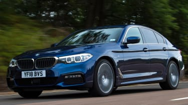 BMW 5 Series - Front Tracking