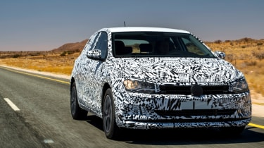 New Volkswagen Polo 2017 prototype front