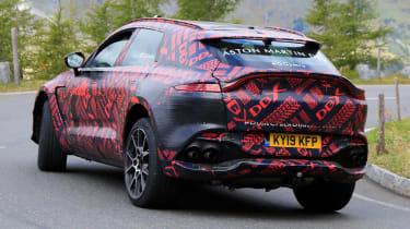 Aston Martin DBX S - spyshot 6