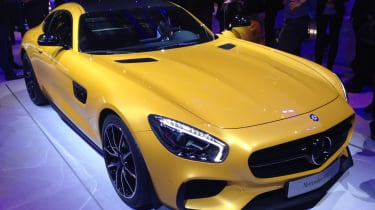 Mercedes AMG GT Edition 1 at Paris Motor Show