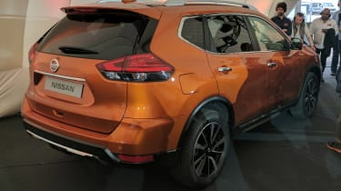 Nissan X-Trail - rear reveal