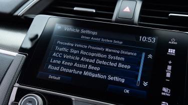Honda Civic - settings