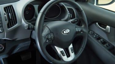 Used Kia Sportage Mk3 - steering wheel