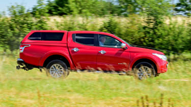 Mitsubishi L200 Long-term test review - side
