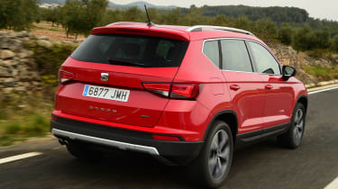 SEAT Ateca - rear tracking