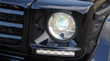 Mercedes G350 Bluetec headlight