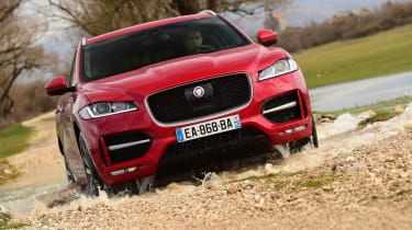Jaguar F-Pace first drive - off-road