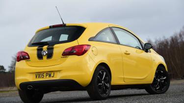 Vauxhall Corsa - rear static
