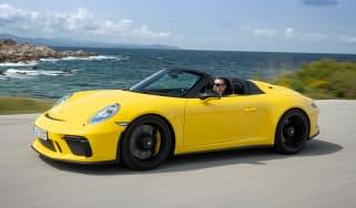 Porsche 911 Speedster - front