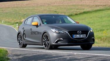 Mazda SKYACTIV-X prototype - front action