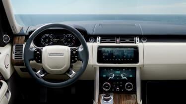 Updated Range Rover - dash
