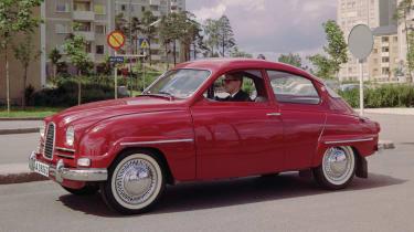 Saab 96 - side
