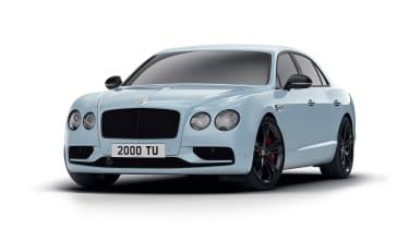 Bentley Flying Spur V8 S Black Edition front quarter