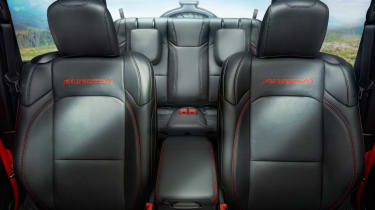 New Jeep Wrangler - seats