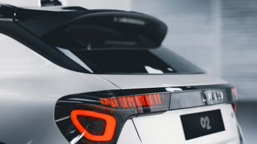Lynk & Co 02 - rear detail