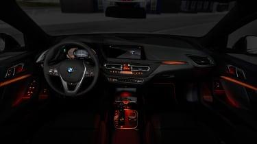New BMW 1 Series 2019 dash lights