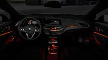 New BMW 1 Series 2019 dash lights