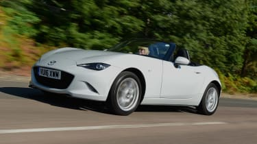 Mazda MX-5 long term - front tracking