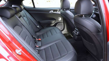 Kia Stinger - back seats