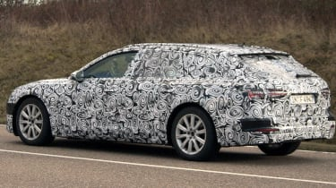 Audi A6 Avant spies side
