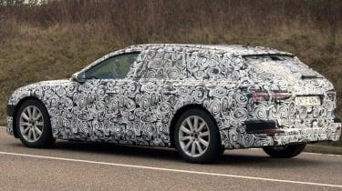 Audi A6 Avant spies side