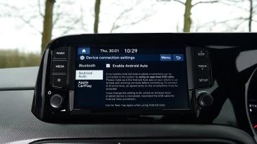 Hyundai i10 - screen