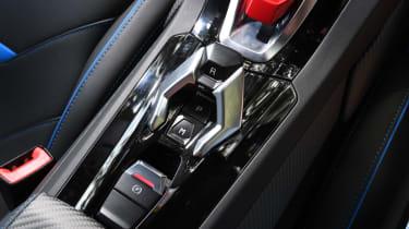 Lamborghini Huracan Evo - console