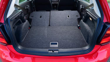 Volkswagen Polo - boot seats down