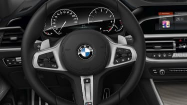 Leaked BMW 3 Series - steering wheel